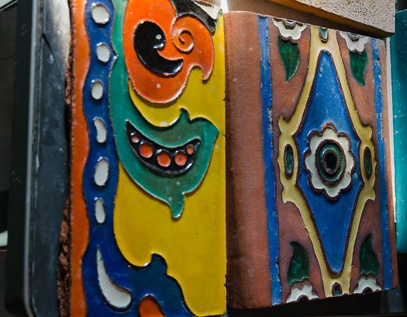 california; camping. desert; death valley national park; desert Just 2 of the varieties of tile.