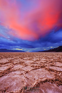 """Under The Sea,"" Badwater Basin Sunset, Death Valley National Park"