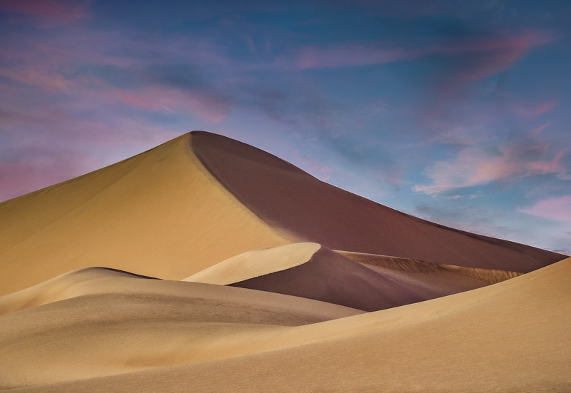 Ibex Dunes at Sunset