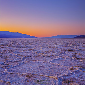 """Another World,"" Badwater Basin Sunset, Death Valley National Park, California"