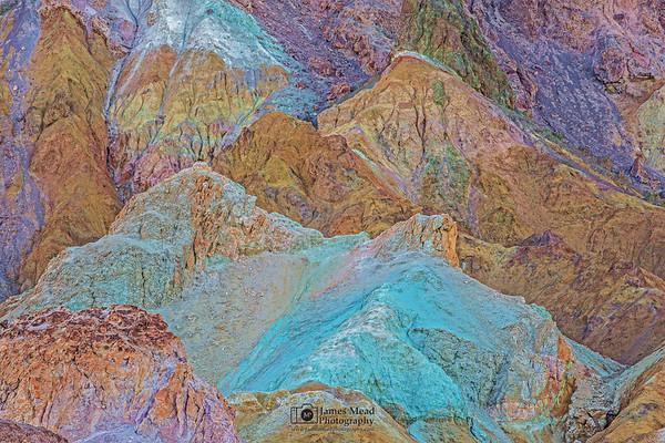 """Artist's Symphony,"" Death Valley National Park, California"