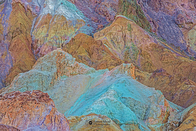 """Artist's Symphony,"" Death Valley National Park, California"