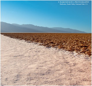 Salt beds, Badwater, Death Valley