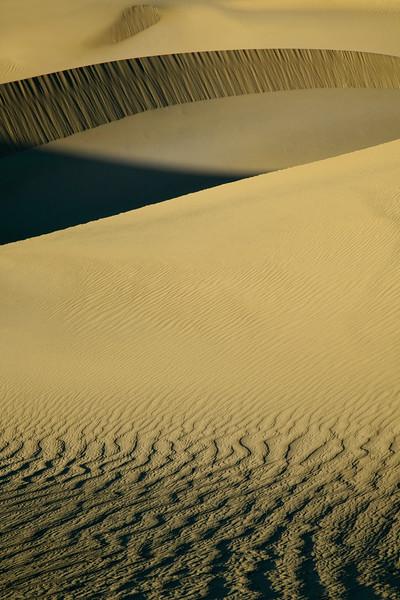 Mesquite Dunes Crater