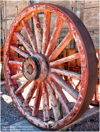 The Colorful wheel, Death Valley