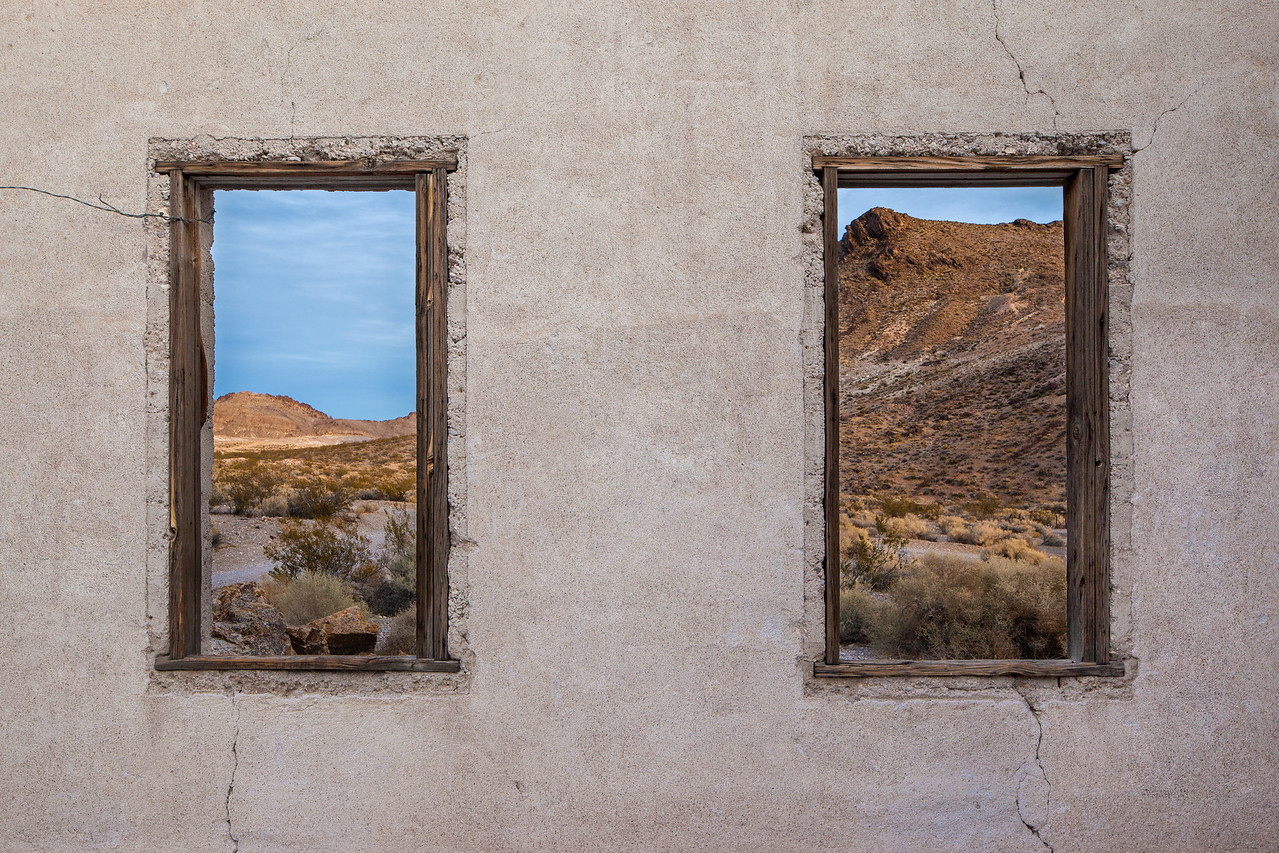 """Windows to the Desert"""