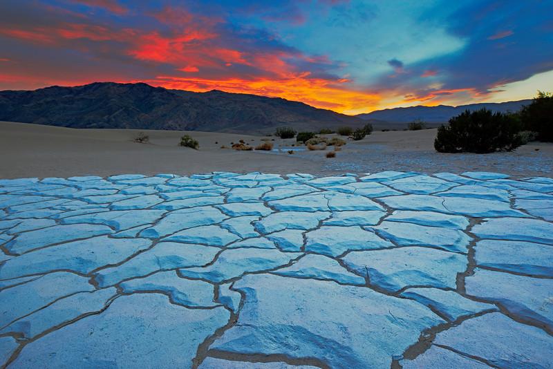 """Panamint Mountains Sunset"""