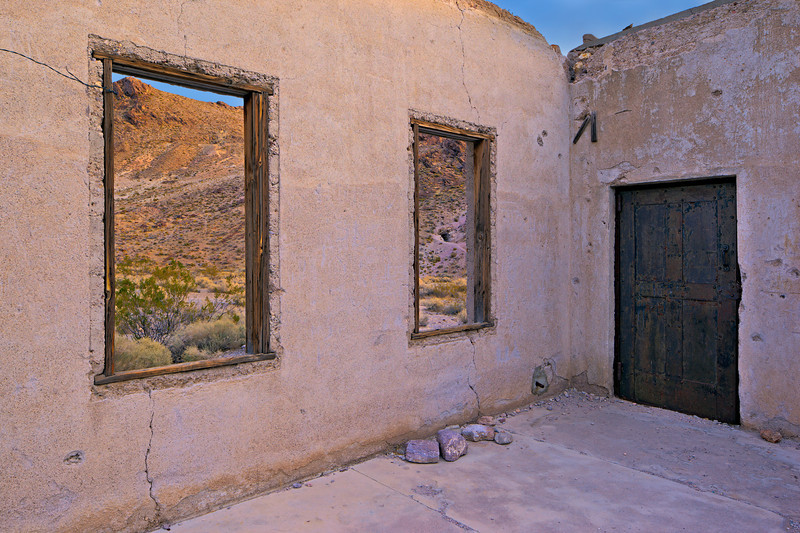 """Rhyolite Jail Interior"""