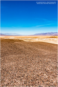 The vast Death Valley, Harmony Borax