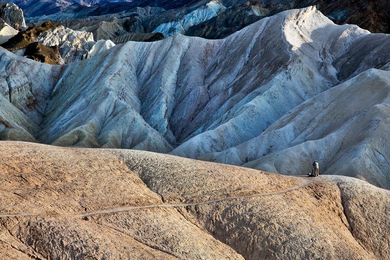 Photographer at Golden Canyon