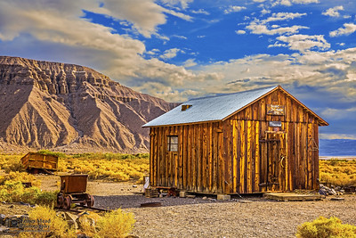 """Ghosts in the Desert,"" Ballarat Ghost Town, Death Valley, California"