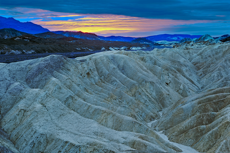 """Furnace Creek Badlands at Sunrise"""