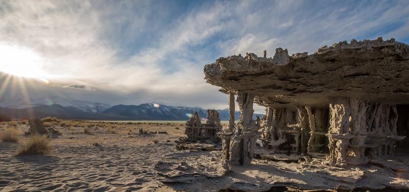 Tufa Sand Castle