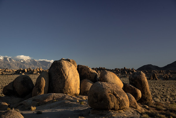 The Alabama Hills, Lone Pine California