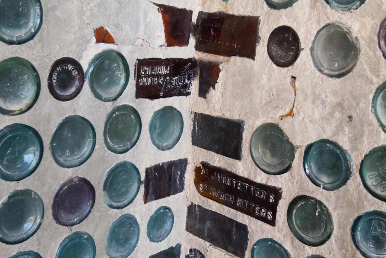 bottle house in Rhyolite, NV