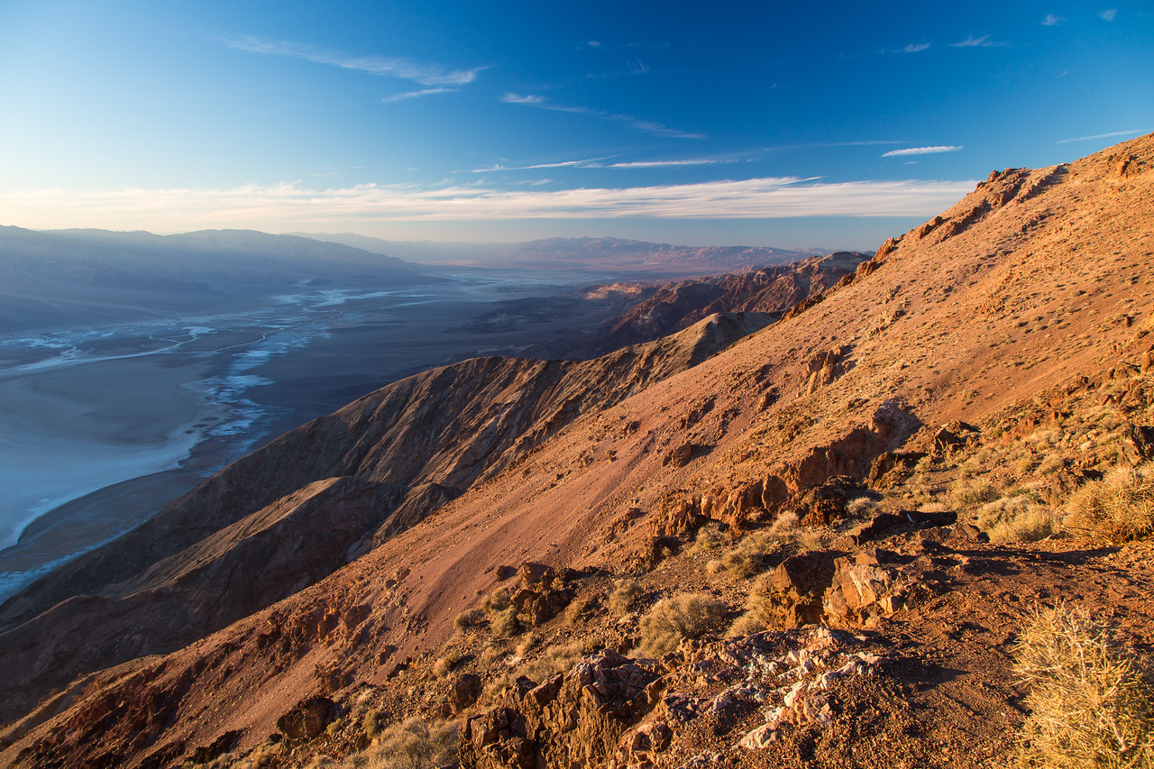 Dantes view to Badwater