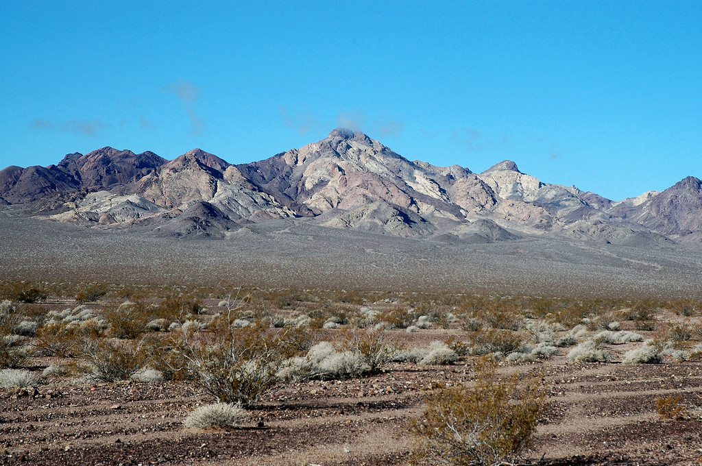 View of Sheephead Mountain as we drive to the place where we will start our hike from.