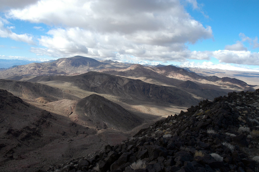 The high point in this photo is Epaulet Peak to the west.