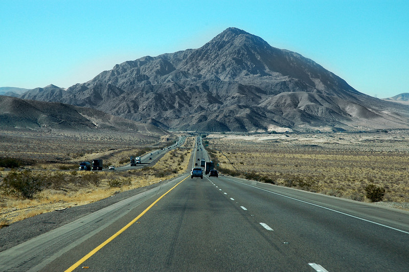 View of Cave Mountain from I-15, one of these days have to hike up this one.<br /> <br /> THE END