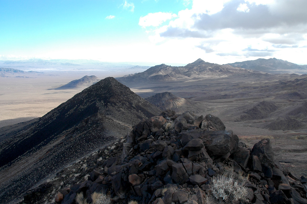 View to the south with Sheephead Mountain.