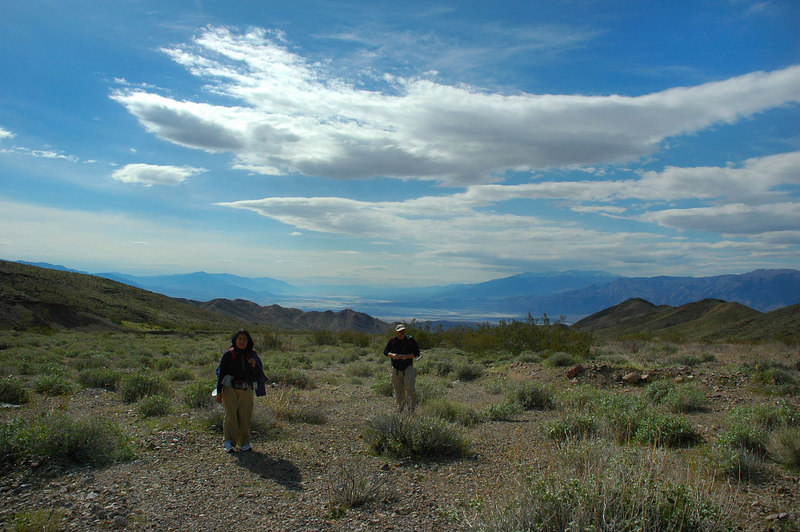 Looking back towards Death Valley to the south.