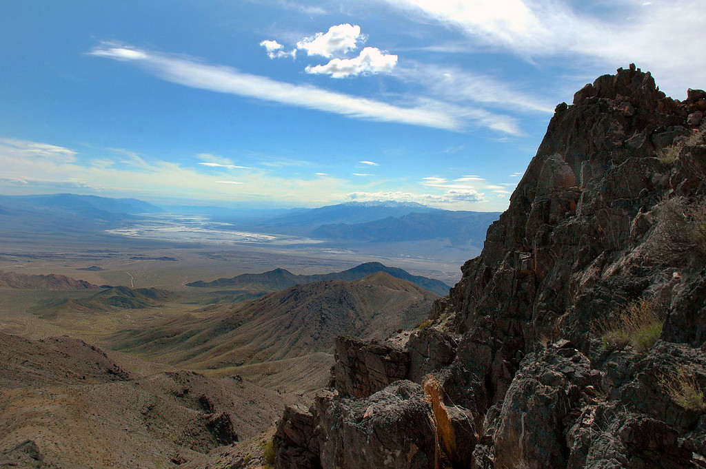 Looking at Death Valley to the south from about the 5,000' level.