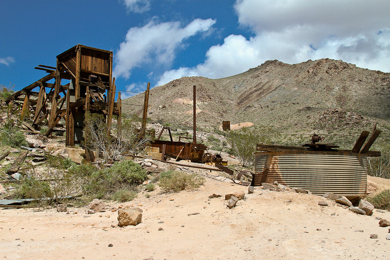 037 Inyo Mine, Funeral Mountains