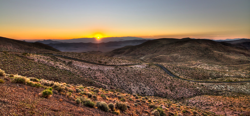 112 Sunrise.  Dante's View, Death Valley