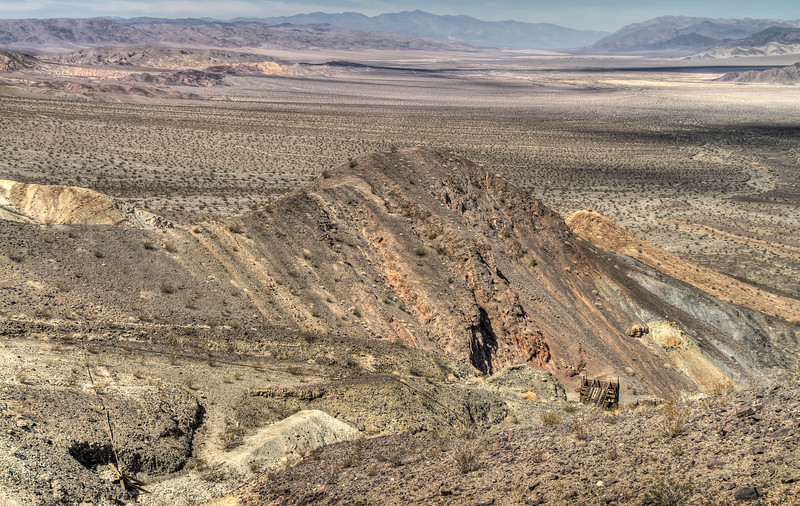 145 Sheep Creek Mine, Death Valley and the Amargosa River Bed
