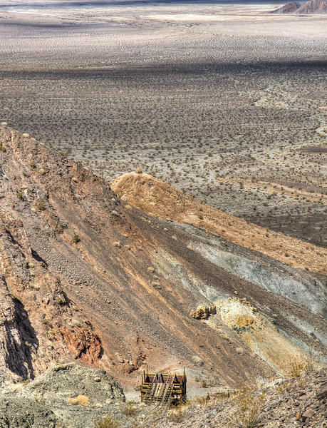 146 Sheep Creek Mine, Death Valley and the Amargosa River Bed