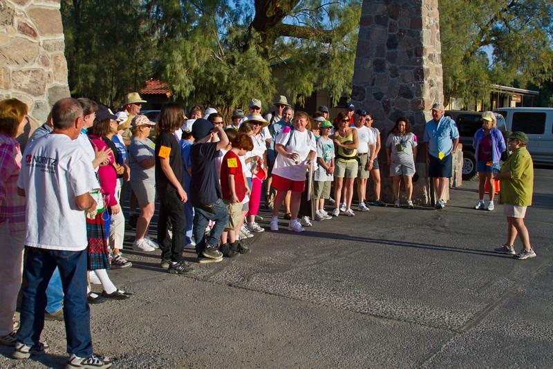Death Valley Walk for Life, April 16, 2011 Registration