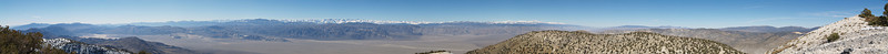 """Last Chance Mountain Summit Panorama Western to Northern View February 11, 2006  <a href=""""http://dbdimages.smugmug.com/photos/75390754_AJtkL-O.jpg""""TARGET=""""blank"""">View at 8200x500</a> Use your browser's zoom function if necessary.  This image is available for purchase as a 27980x1714 pixel original sized <a href=""""http://www.smugmug.com/prints/digital-downloads"""">digital  download</a> or as a <a href=""""http://dbdimages.smugmug.com/gallery/1904456"""">cropped panoramic print</a>."""