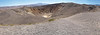 Ubehebe Crater<br /> Formed about 600 years ago when hot magma flashed ground water into steam.<br /> Northern Death Valley