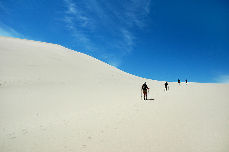 These are some really nice dunes, the biggest that I ever been on.