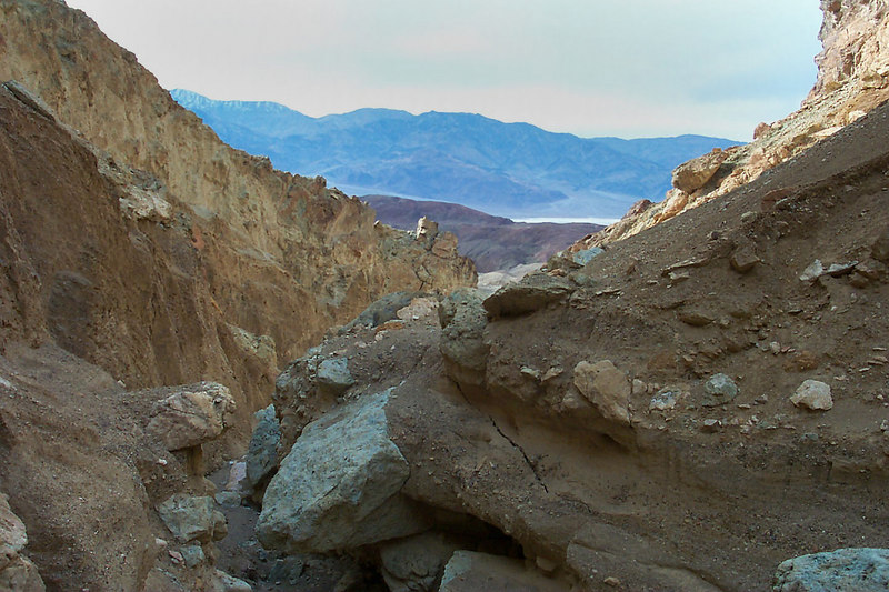 Another view down the canyon.