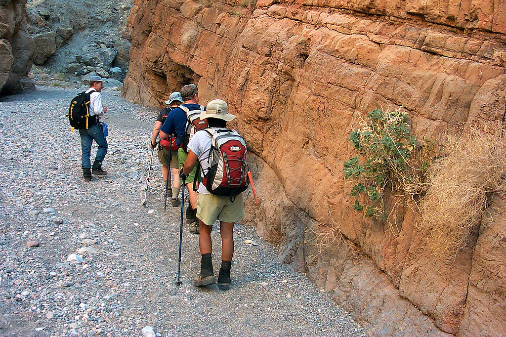 Heading into the canyon.