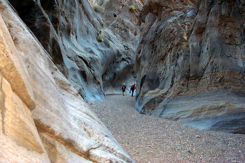 This is near the end of the narrows. The colors and shapes were great in here.