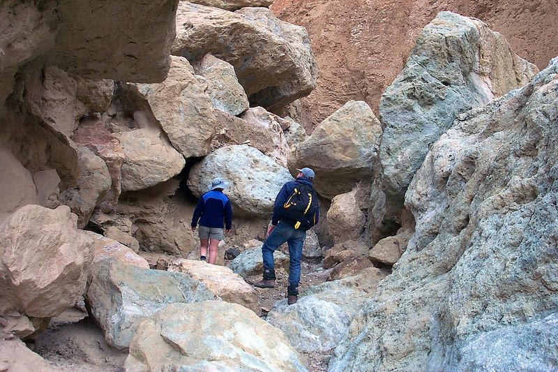 More rocks to climb.