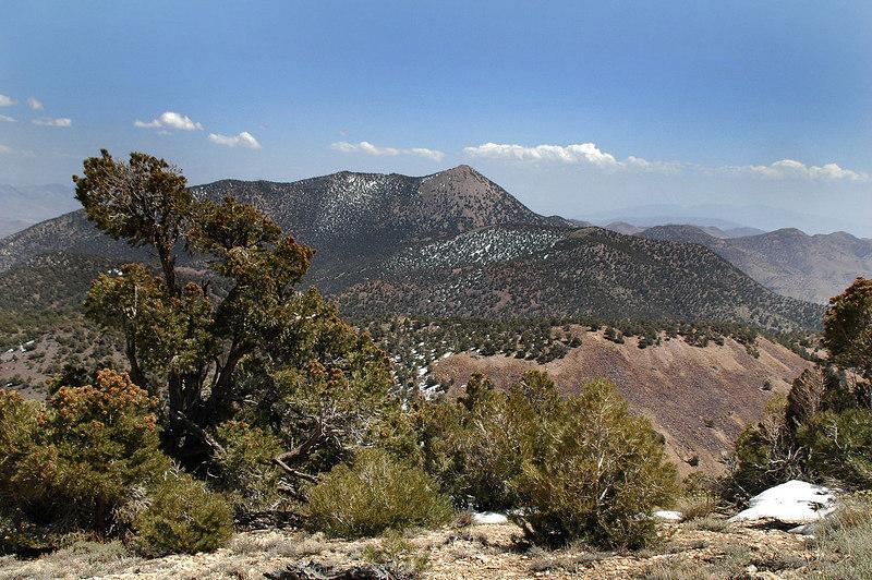 Wahguyhe Peak to the southeast. It's going to be tomorrow's hike.