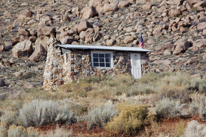 The Geologist's Cabin, someone was there so we drove on to the butte. These cabins are free to use by anyone.