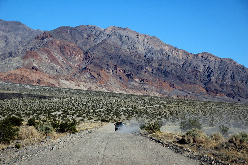 Almost to the Badwater Road. Death Valley has some of the best colors.