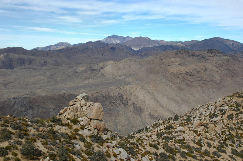 Telescope Peak to the north.
