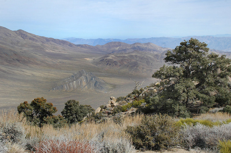 Another shot of Striped Butte. We'll be hiking it tomorrow.