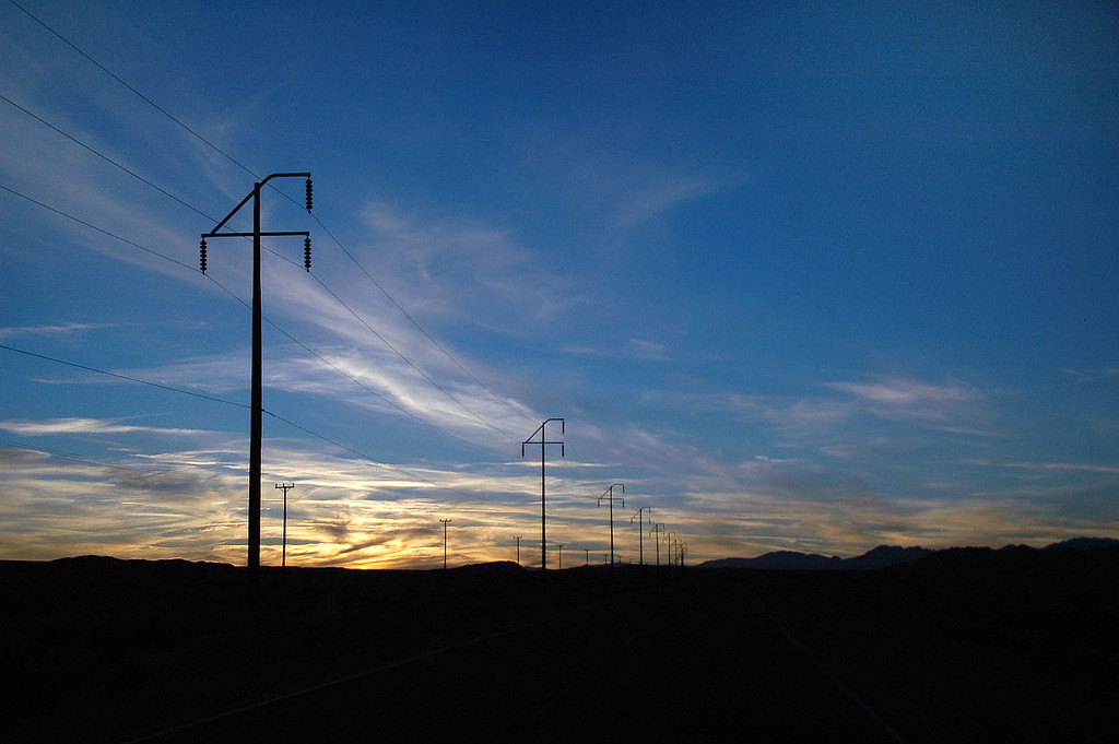 Sunset from Hwy 178 on the way to Ridge Crest. Another fun trip to Death Valley. THE END