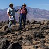 Field trip to Mars analog site of Mars Hill with Dr. Aaron Zent (left).  Dr. Zent received his Ph. D. in Geology from the University of Hawaii in 1988, and has been at NASA Ames ever since.  He has been involved with several Mars missions, most recently the 2008 Phoenix lander.  His research focuses on the physical and chemical interactions between planetary atmospheres and their surfaces.