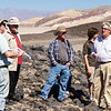Field trip to Mars analog site of Mars Hill with Dr. Aaron Zent (left).