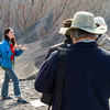 Dr. Rosalba Bonaccorsi (left) is an interdisciplinary scientist working at NASA Ames Research Center. In 2001 she obtained her Ph.D. in Geological, Marine and Environmental Sciences from the University of Trieste (Italy). Since 2005 she has expanded her interest to the habitability of mineralogical Mars analogs, and very dry desert regions worldwide, including the Mojave, Antarctica, Atacama (Chile), and Australia, often as a NASA Spaceward Bound team member. Rosalba joined the SETI Institute in 2008, and is keen to achieve a wide picture of where life and its signatures are most successfully distributed, concentrated, preserved, and detected. Since 2008, Rosalba has been working in Death Valley on the Ubehebe Volcanic Field. In collaboration with NASA scientists, she is applying results from this research to Mars Science Laboratory mission objectives. Formerly a teacher, she has been involved with Education and Public Outreach with non-profit organizations since 1989.
