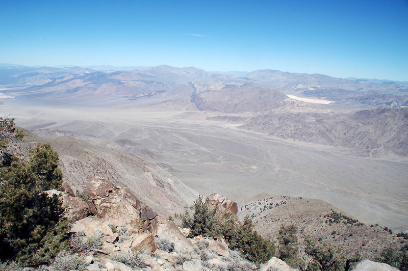 Looking across Saline Valley to the Race Track.