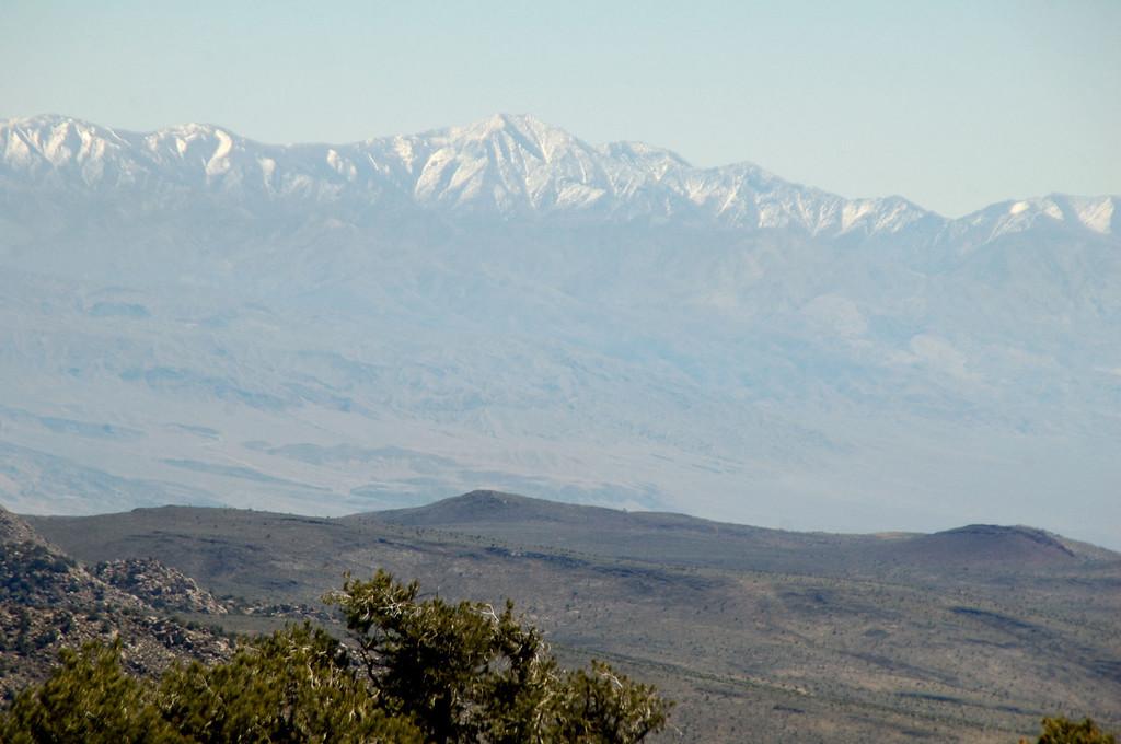 Zoomed in on Telescope Peak.