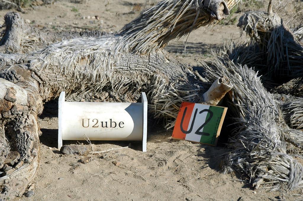 The U2ube had a register inside.
